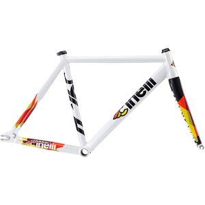 Cinelli Vigorelli Track Alu Rennrad Rahmenset 2019 White