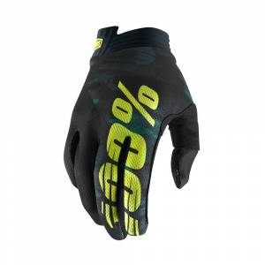 100% iTrack Handschuhe SS19 Black