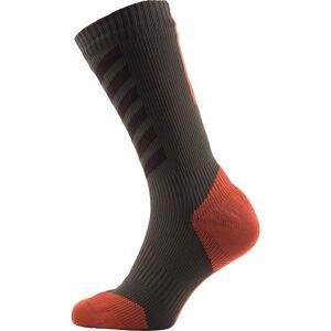 SealSkinz Mid Mid MTB Socken (mit Hydrostop) AW16 Green