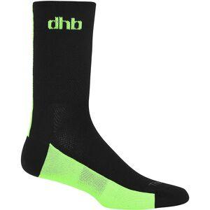 dhb Aeron Thermalite Socken Green