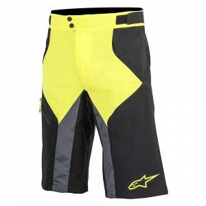 Alpinestars Outrider WR Base Shorts SS18 Yellow