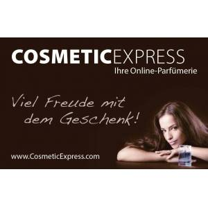 CosmeticExpress Gift Card gift card with individual text, 1 Stk.