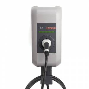KEBA Elektroauto Ladestation KEBA Wallbox 105.644 KeContact P30 x-series (22kW, inkl. 6m Kabel Typ 2, Ethernet, 3G, RFID, MID)