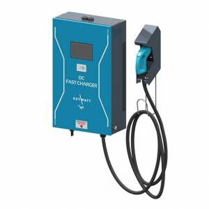 IES Synergy Elektroauto Ladestation DC-Wallbox (1 Anschluss) (24kW, CHAdeMO, SIM, RFID)