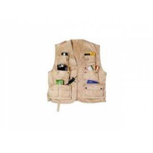 ISO gilet trail 13 poches taille XL - sable foncé