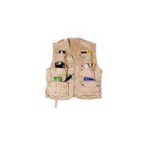 ISO gilet trail 13 poches taille M - sable foncé