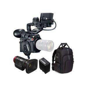 Canon kit caméscope EOS C200 + objectif CN-E 18-80 mm T4.4 + batter...