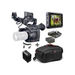 Canon kit caméscope C200 + Atomos Ninja V + Power kit + batterie + ...