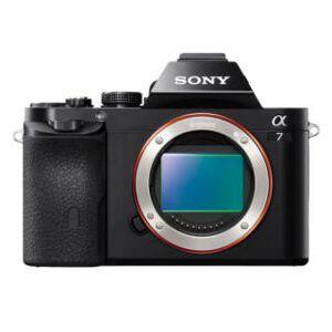 Sony Alpha 7 noir nu compact hybride