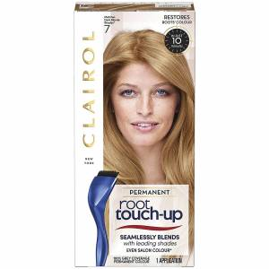 Clairol Root Touch-Up Permanent Hair Dye Long-lasting Intensifying Colour with Full Coverage 30ml (Various Shades) - 7 Dark Blonde