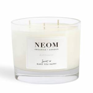 NEOM Happiness Scented 3 Wick Candle