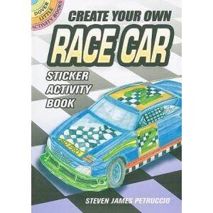 Create Your Own Race Car Sticker Activity by Steven James Petruccio