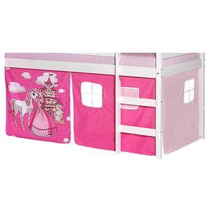 Idimex Vorhang PRINZESSIN, in pink/rosa