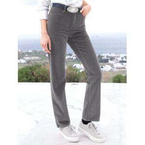 Brax Feminine Fit-Sportsamt-Hose Modell Carola Brax Feel Good grau Damen 46 grau