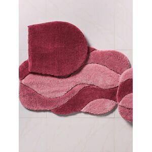Grund Hänge-WC-Matte ca. 60x60cm Grund rosé Wohnen  rosé