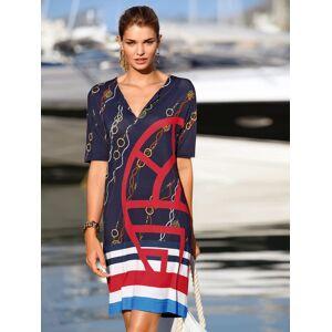 Féraud Kleid 1/2-Arm und V-Ausschnitt Féraud blau Damen 42 blau