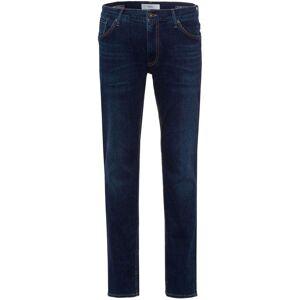 Brax Hi-FLEX Slim Fit Jeans dunkelblau-used, Einfarbig Herren 38/38 dunkelblau-used