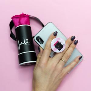 Juli Flowers POP-Socket, Handysockel mit Flowerbox