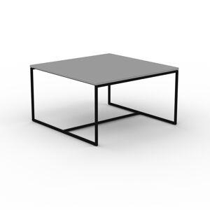 MYCS Beistelltisch Grau - Eleganter Nachttisch: Hochwertige Materialien, einzigartiges Design - 81 x 46 x 81 cm, Komplett anpassbar