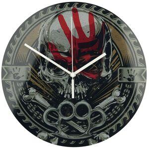 Five Finger Death Punch Knucklehead Wanduhr-multicolor - Offizielles Merchandise Onesize       Unisex