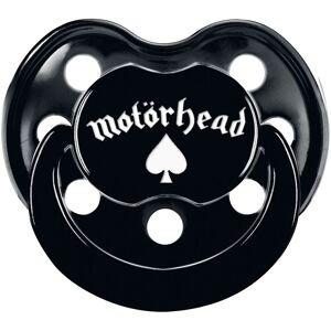 Motörhead Motörhead Logo Schnuller-schwarz - Offizielles Merchandise 0-6 Monate, 6-18 Mon.       Unisex
