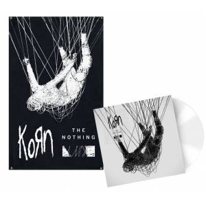 Korn The nothing LP-weiß Onesize       Unisex