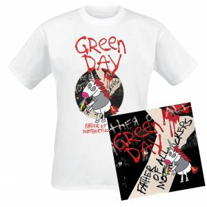 Green Day Father of all... CD-multicolor M       Unisex