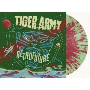 Tiger Army Retrofuture LP-splattered