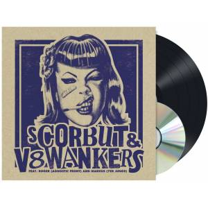 Scorbut & V8 Wankers Feat. Agnostic Front LP-multicolor