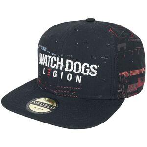Watch Dogs Legion - Glitch Cap-schwarz - Offizieller & Lizenzierter Fanartikel one size       Herren