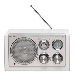 Denver Tragbares Radio Denver Electronics TR-61 Weiß