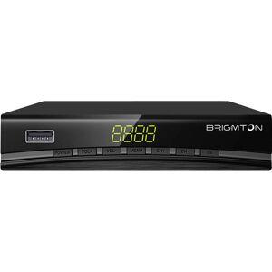 BRIGMTON TDT-Receiver BRIGMTON BTDT2-918 Full HD USB HDMI Schwarz