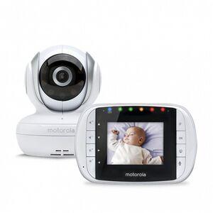Motorola Babyphone mit Kamera Motorola 223419 28 2.4GHz Weiß