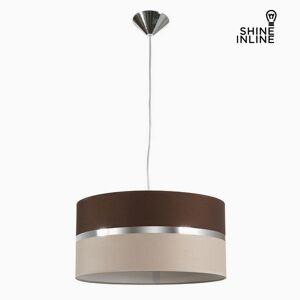 BigBuy Home Deckenlampe Braun Beige by Shine Inline