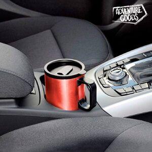 BigBuy Car Farbiger Thermos Reisebecher 500 ml