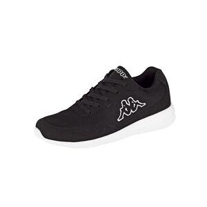 Kappa Sneaker, Unisex, schwarz, in Mesh-Optik