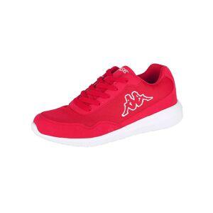 Kappa Sneaker, Unisex, rot, in Mesh-Optik