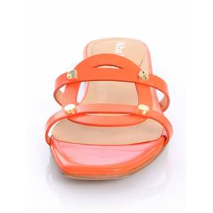 Alba Moda Pantolette, Damen, orange, als absoluter Sommer-Begleiter