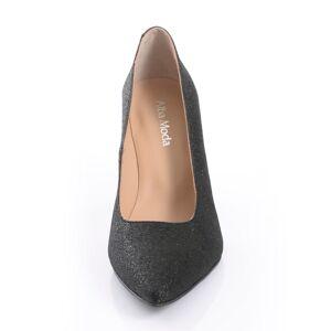 Alba Moda Pumps, Damen, schwarz, aus Textil