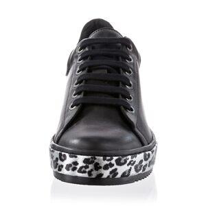 Alba Moda Sneaker, Damen, schwarz, mit auffälliger Sohle