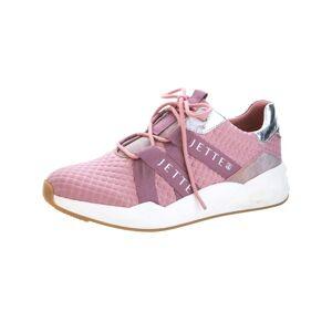 Jette Sneaker, Damen, rosé, aus struckturiertem Textilmaterial