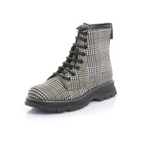 Alba Moda Boot, Damen, grau, im trendigen Glencheckmuster