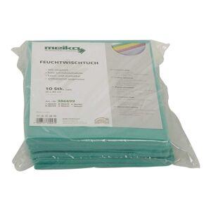 wischmopshop by Axis24 GmbH 10er Pack beschichtetes Meiko Feuchtwischtuch 35 x 40 grün...