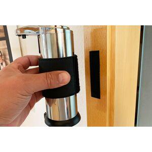 wischmopshop by Axis24 GmbH Universelles Haltekit für Desinfektionsspender mit klebbarem Klett