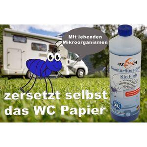 wischmopshop by Axis24 GmbH Klo Floh Sanitärflüssigkeit für Camping WC mit Mikroorganismen...