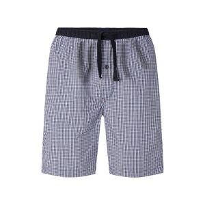TOM TAILOR Herren Pyjama Shorts, blau, kariert, Gr.50/M