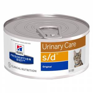 Hill's Prescription Diet 156g s/d Urinary Care Katzenfutter Original Hill's Prescription Diet Nassfutter für Katzen