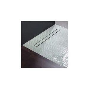 Repabad BETN12090C115 Bodenelement mit TECE Duschrinne BETN L: 90 B: 120 DR: 120 cm Nischeneinbau/einseitiges Gefälle 20189