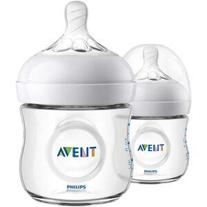 AVENT Babyflasche »Natural Flasche SCF030/27«, (5 tlg., 2er-Pack),... transparent Größe 125 ml
