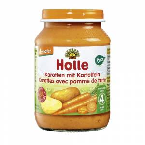 Holle Demeter Karotten mit Kartoffeln, nach dem 4. Monat (190g)